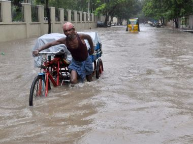 File photo of Chennai floods. AFP