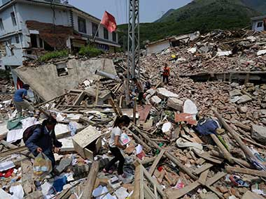 China earthquake Magnitude 70 tremors hit Sichuan Province no casualties reported yet