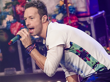 Chris Martin. Getty Images