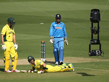 Not too happy with the use of overhead 'Spidercam' during the ODI series against Australia, India's limited-over skipper Mahendra Singh Dhoni has called for a balance in the usage of such technology so that it doesn't interfere with the on-field action. Getty