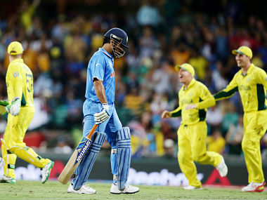 MS Dhoni needs to get his batting order right to stand a chance against Australia. AP
