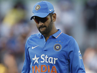 MS Dhoni will be worried about India's bowling. AP