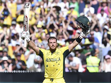 File photo of Aaron Finch. AP