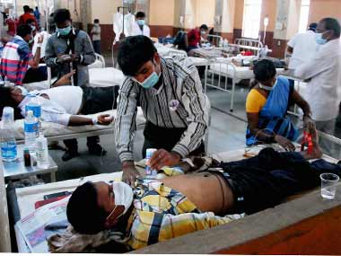 A hospital in India. Representational image. PTI