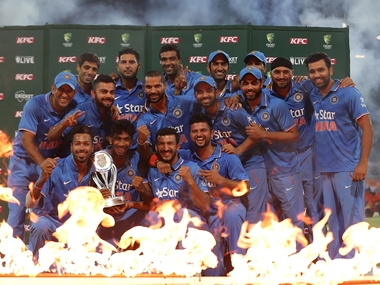 India completed a whitewash over Australia and clinch the T20I series 3-0. Getty