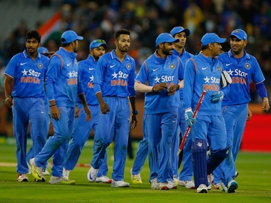 File picture of members of India team. Getty