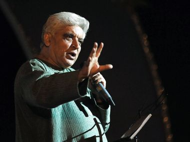 Javed Akhtar in a file photo. AFP