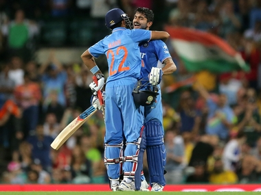 Manish Pandey made the most of his chance. Getty