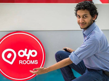 Ritesh Agarwal, founder and CEO of Oyo Rooms