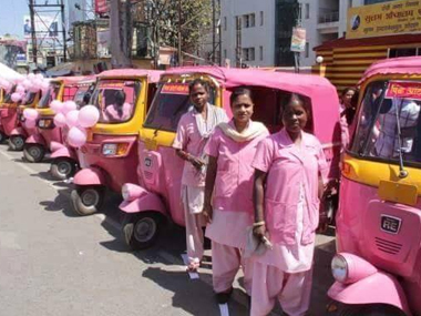 Coming soon in Mumbai Pink autorickshaws for women of women by women