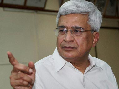 A file image of CPM leader Prakash Karat. PTI