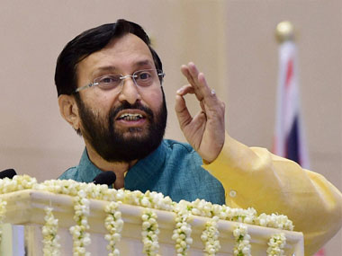 Prakash Javadekar. File photo. PTI