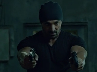 Rocky Handsome. YouTube screengrab