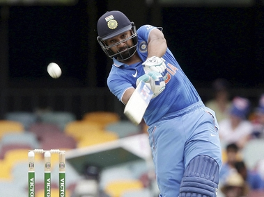 Rohit Sharma had a very good ODI series with the bat. PTI