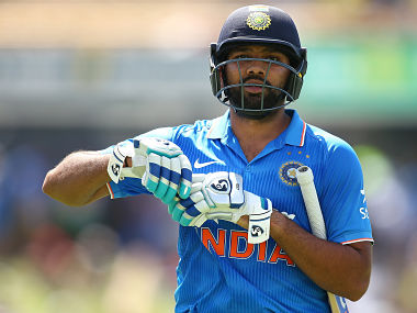 Rohit Sharma walks from the field at the end of the innings during the Victoria Bitter One Day International Series match between Australia and India at WACA. Getty Images