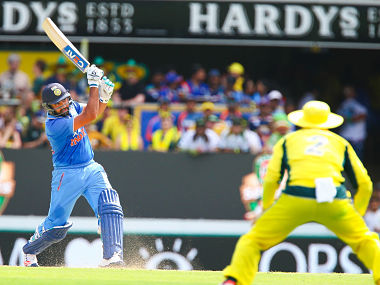 Rohit is the first Indian player to hit four hundreds in ODIs in Australia, eclipsing the three by VVS Laxman. AFP