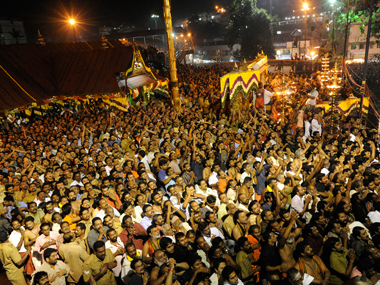 Sabarimala temple row: Restriction on women's entry is a matter of religion, Kerala govt