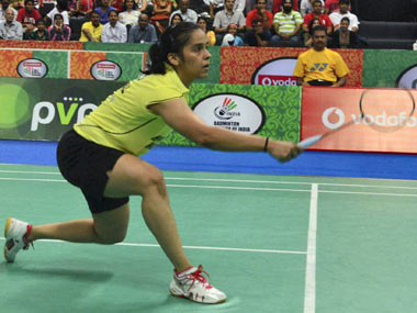 File photo of Saina Nehwal. PTI