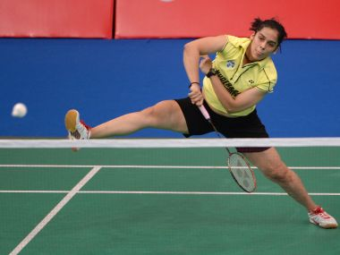 File picture of Saina Nehwal. AFP
