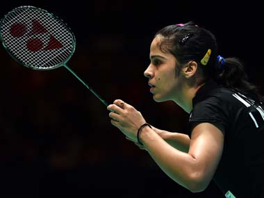 Saina Nehwal in a file photo. AFP