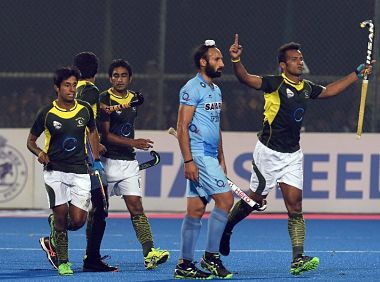 File image from India-Pakistan hockey match in Bhubaneshwar in 2013. AFP
