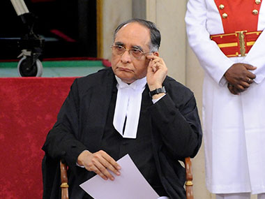 Former Chief Justice of India Sarosh Homi Kapadia. AFP