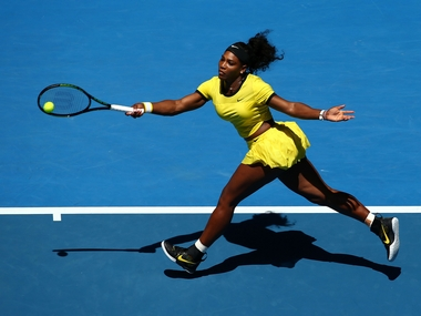 File photo of Serena Williams. Getty