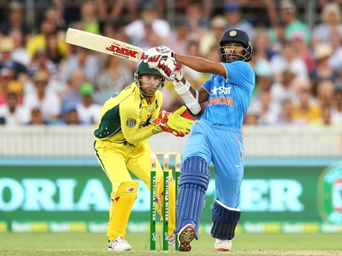 Shikhar Dhawan's ton was in vain. Getty images