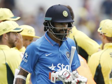 What's the cost of persisting with Shikhar Dhawan? AP
