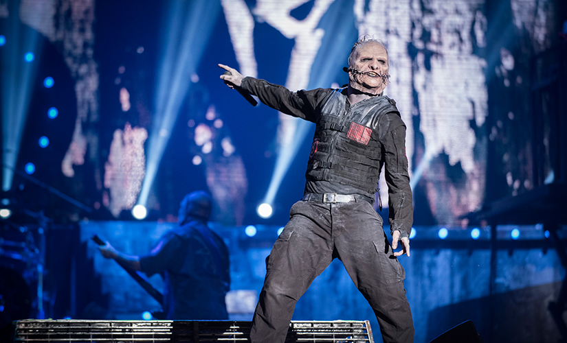 File image of Corey Taylor from Slipknot. Getty Images