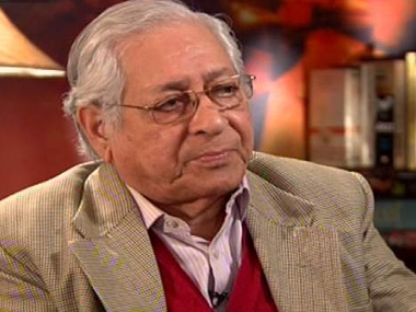 Soli Sorabjee in a file photo. Ibnlive