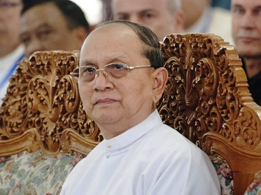 Myanmar President Thein Sein moves legislature to get more powers for military under NLD govt