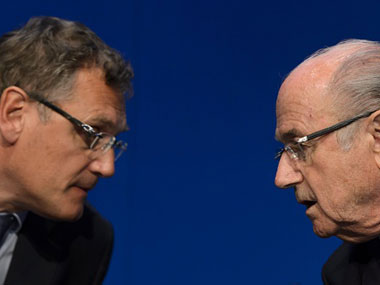 FIFA cleanup Jerome Valcke former righthand man to Blatter banned for 12 years