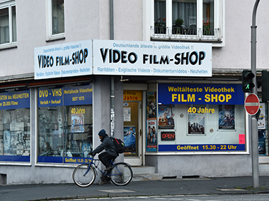 The oldest video shop in Germany, perhaps the world. Uwe Zucchi/DPA