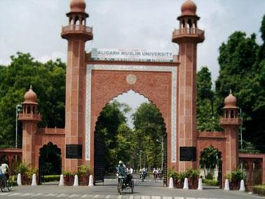 File image of Aligarh Muslim University. IBN-Live