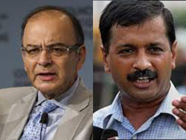 Arun Jaitely and Arvind Kejriwal. IBNLive