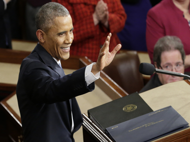 Obama, legendary for fine speeches, will take the high profile SOTU stage for the last time / AP