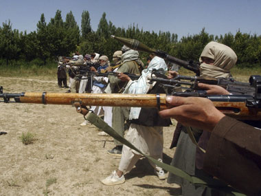 Taliban fighters in Pakistan. Representational image. Reuters