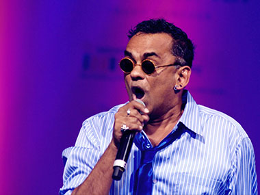 Remo Fernandes. File photo. AFP