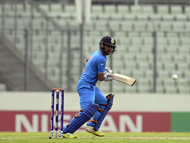 U-19 World Cup final India vs West Indies Live: India in trouble with half side back in