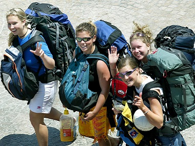 Take the sarong, forget the shampoo: Backpackers reveal secrets of what they don't carry