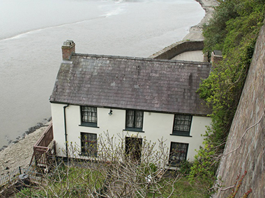 Walkers find poet's retreat and odd villages along Wales Coast Path