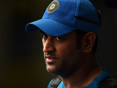 India limited overs captain MS Dhoni. AFP