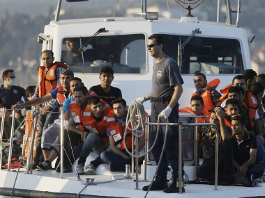 Nato calls Europes migrant crisis a human tragedy orders warships to Aegean Sea