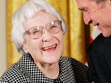 Harper Lee. AFP