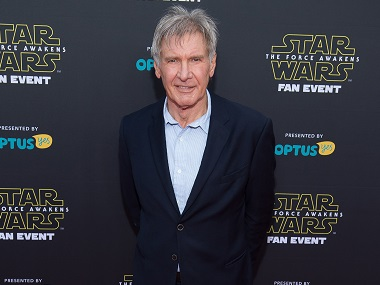 Harrison Ford. AFP