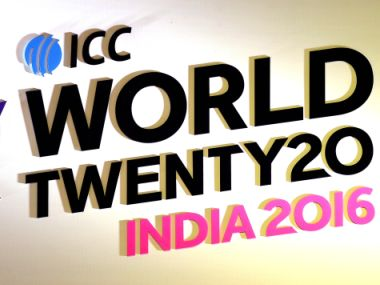 ICC World T20 Logo. AFP
