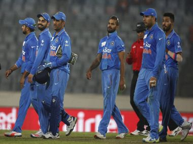 India have won all three encounters vs Bangladesh in T20Is. PTI