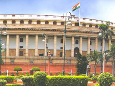 Time to act. Image courtesy parliamentofindia.nic.in