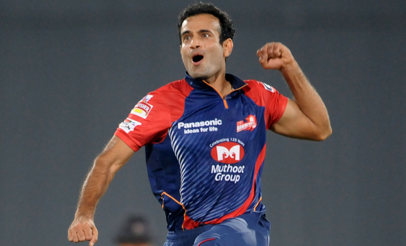 Irfan Pathan. Getty Images